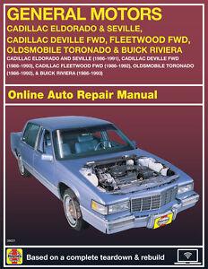 2001 Buick LeSabre Haynes Online Repair Manual-Select Access