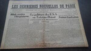 Periodico-Los-mas-Reciente-Nuevas-De-Paris-N-70-Miercoles-28-Agosto-1940-ABE