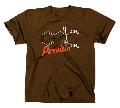 #2 Crystal Meth Pervitin T-Shirt | cook | heisenberg | molekül panzerschokolade