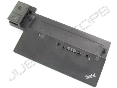 Unlocked Dock Only Lenovo ThinkPad X250 Pro Docking Station Port Replicator