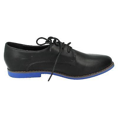 Ausverkauf Spot on F8857 Damen schwarz Synthetisch Schnürschuhe