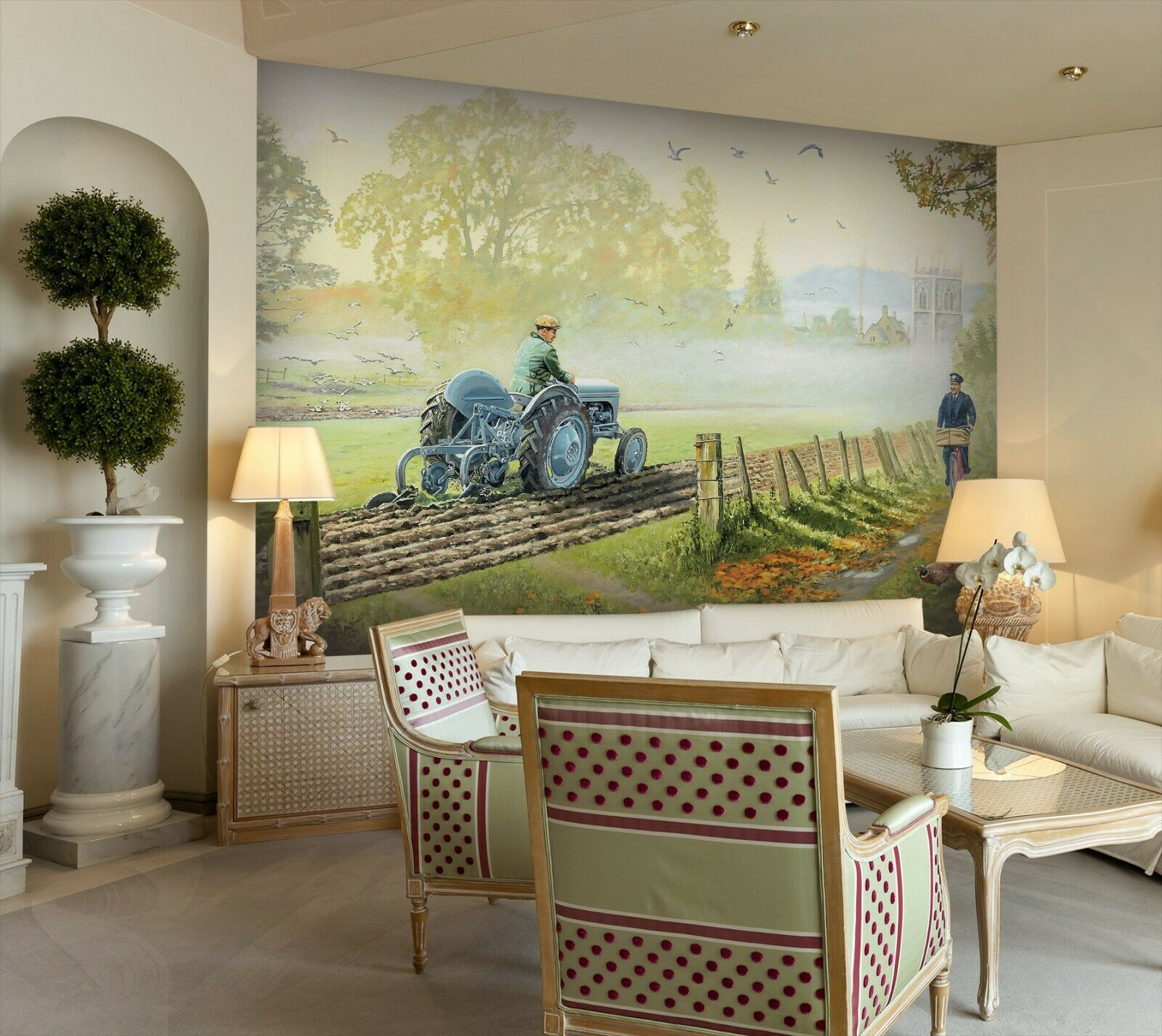 3D Arable Land I324 Wallpaper Mural Sefl-adhesive Removable Trevor Mitchell Amy