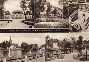 Bad Lauchstädt , Kr. Merseburg , DDR , Ansichtskarte, ungel. - Schwerin, Deutschland - Bad Lauchstädt , Kr. Merseburg , DDR , Ansichtskarte, ungel. - Schwerin, Deutschland