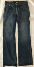 Rock & Republic Men's Henlee Distressed Blue Regular Bootcut Jean 30 32^