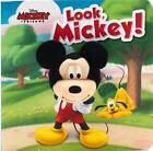 Look, Mickey: Disney Finger Puppet & Board Book by Parragon Books (Board book, 2015)