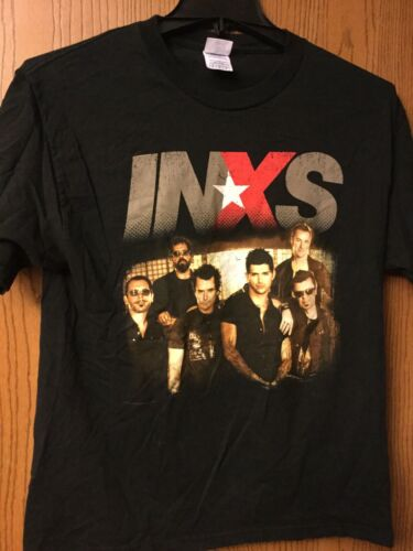 Inxs - Tour 2006.  Black Shirt.  M.