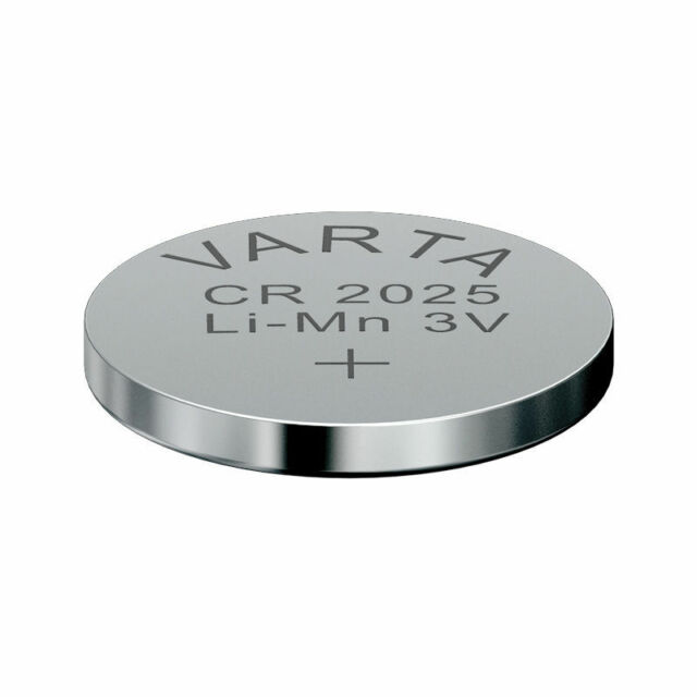 1 Pieces Varta CR2025 Lithium Coin Cell Original Surga 2017