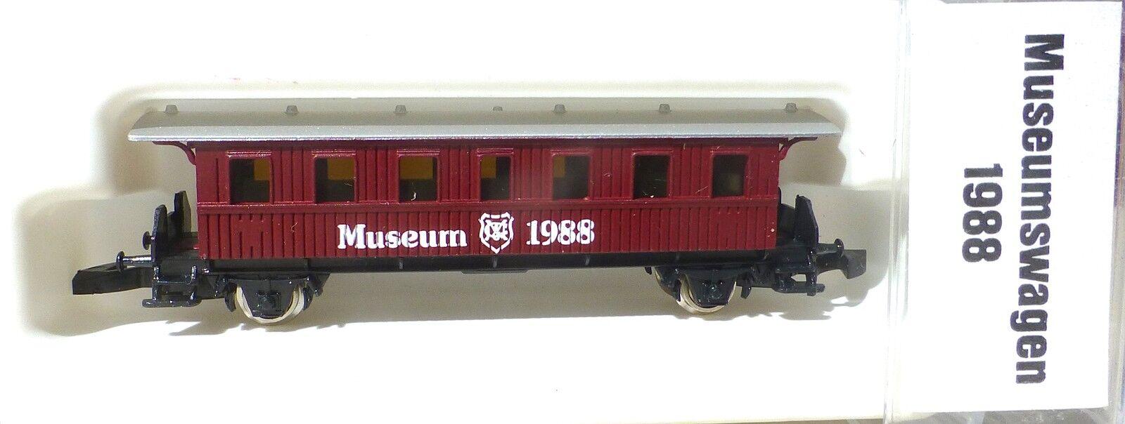 1988 Personenwagen Museumswagen Museum Museum Museum Märklin Spur Z 1 220 å 463ca2