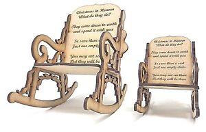 3D-Mecedora-con-regalo-de-Navidad-el-cielo-redaccion-para-la-perdida-de-un-ser-querido