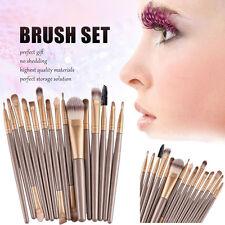 15pcs Soft Makeup Brushes Set Kit Eye Shadow Powder Foundation Lip Brushes Tool