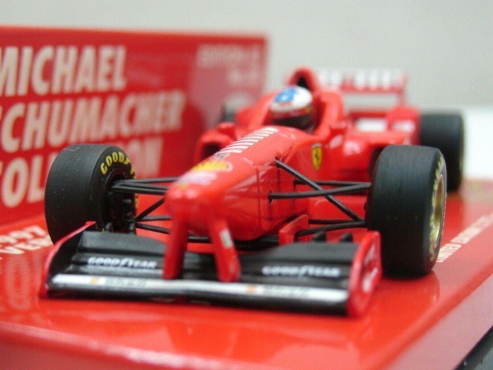 WOW EXTREMELY RARE Ferrari F310B Schumacher 32 Launch Maran 1997 1 43 Minichamps