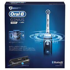 Oral-B Genius 9000, SmartSeries, Rechargeable Toothbrush (Genuine, Black)