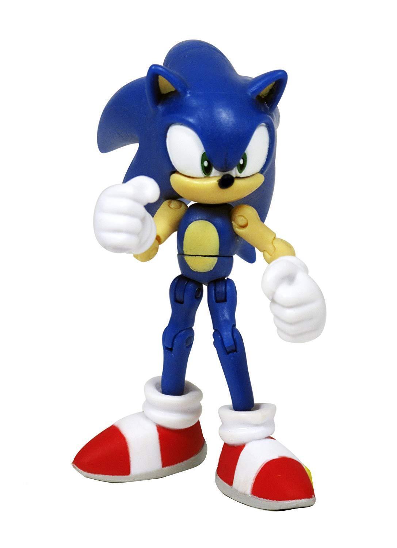 Sonic The Hedgehog exclusivo 3 pulgadas figura de acción Sonic the Hedgehog