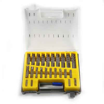 150pcs Precision 0.4mm-3.2mm Micro Drill Bit Twist Set Mini HSS Drill + Case