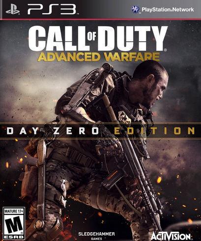 1 of 1 - Call of Duty: Advanced Warfare -- Day Zero Edition (Sony PlayStation 3, 2014)