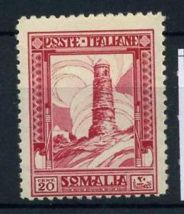 Somalia-1932-Sass-171-Nuovo-80-Pittorica-20-c