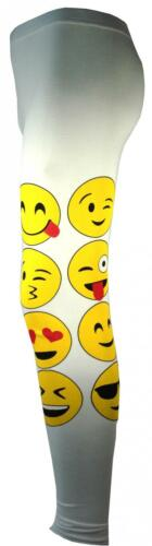 KIDS EMOJI EMOTICONS SMILEY FACES SHORT SLEEVE T-SHIRTS TOPS GIRLS AGE NEW 7-13y