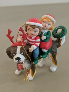 Campbell's Soup Kids Ornament Girl And Boy Christmas Holiday