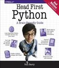 Head First Python 2e by Paul Barry (Paperback, 2016)