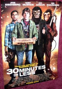 Cinema Poster: 30 MINUTES OR LESS 2011 Jesse Eisenberg | eBay