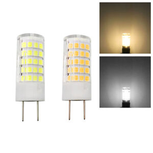 G8-Bi-Pin-T5-LED-Light-Bulb-64-2835-SMD-Lamp-5W-120V-Dimmable-Ceramics-Lights