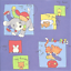 ASSORTED-PACK-OF-CHILDRENS-PAPERS-6-X-6-SAMPLE-PACK-1-OF-EACH-DESIGN-11-SHEETS
