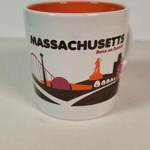 Dunkin Donuts Massachusetts Runs on Dunkin Mug 2012 14 oz