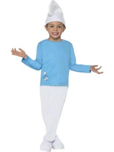 **CLEARANCE!** Boy Smurf Fancy Dress Costume Christmas Boy/'s Smiffy/'s