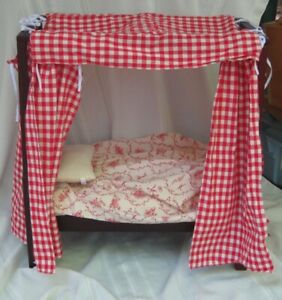 American Girl Doll Bed - Felicity - 4 Poster Bed with ...