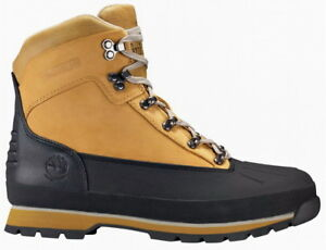 c5a7539265a Details about MEN'S TIMBERLAND EURO HIKER SHELL TOE BOOT (M) TB0A1KYN Wheat  Black