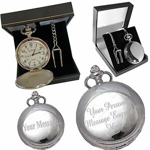 3b51d135d Image is loading Engraved-Pocket-Watch-Groom-Husband-Gift