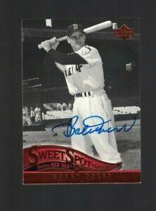 Bobby Doerr Boston Red Sox Signed 2005 Sweet Spot Baseball Card W/Our COA