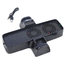 ZedLabz dual cool vertical console stand fan cooling system for Xbox 360 slim