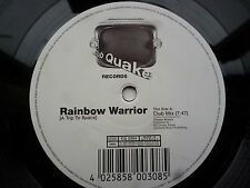 "Rainbow Warrior A Trip To Space 12"" vinyl #331"