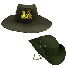 US BORDER PATROL OUTDOOR HIKING HUNTING HAT SOLDIER BOONIE BUSH