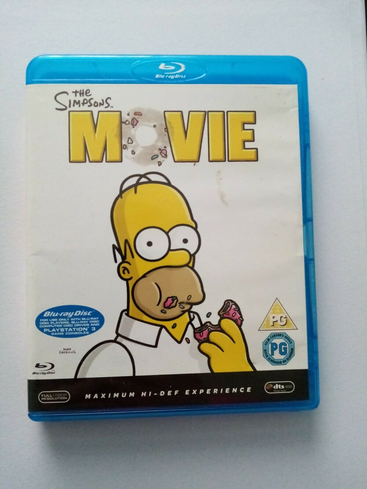 The Simpsons Movie Blu Ray 2007 For Sale Online Ebay