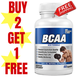 BCAAs-60-Capsules-BRANCH-CHAIN-AMINO-ACIDS-RECOVERY-Buy-2-Get-1-FREE