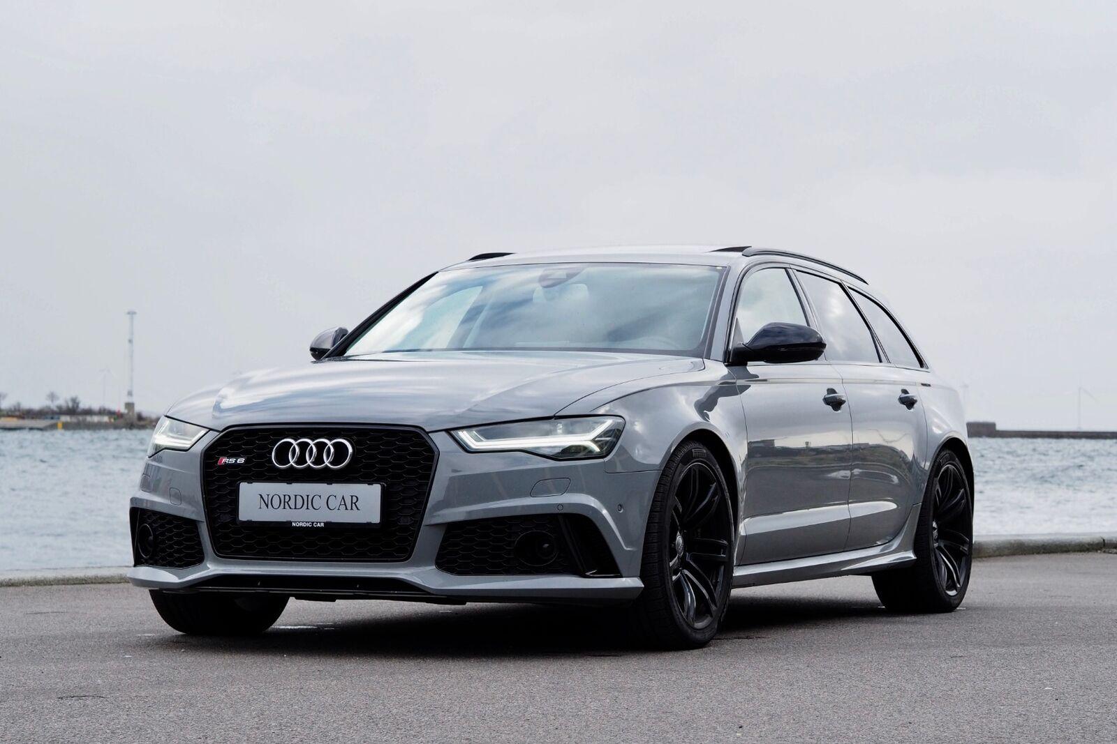 Audi RS6 4,0 TFSi Avant quattro Tiptr. 5d - 8.000 kr.