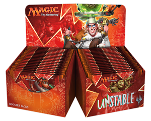 English Magic the Gathering Unstable Booster Box 36ct SEALED!