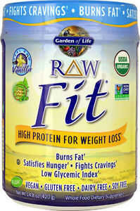 Garden Of Life Raw Fit Vanilla Organic Sprout Plant Protein Powder 658010116039 Ebay