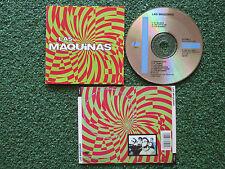 Latin Pop Rock LAS MAQUINAS Spain 1992 CD HEROES DEL SILENCIO Duncan Dhu