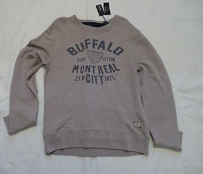 Austin Buffalo David Bitton Mens Felix Sweater Large