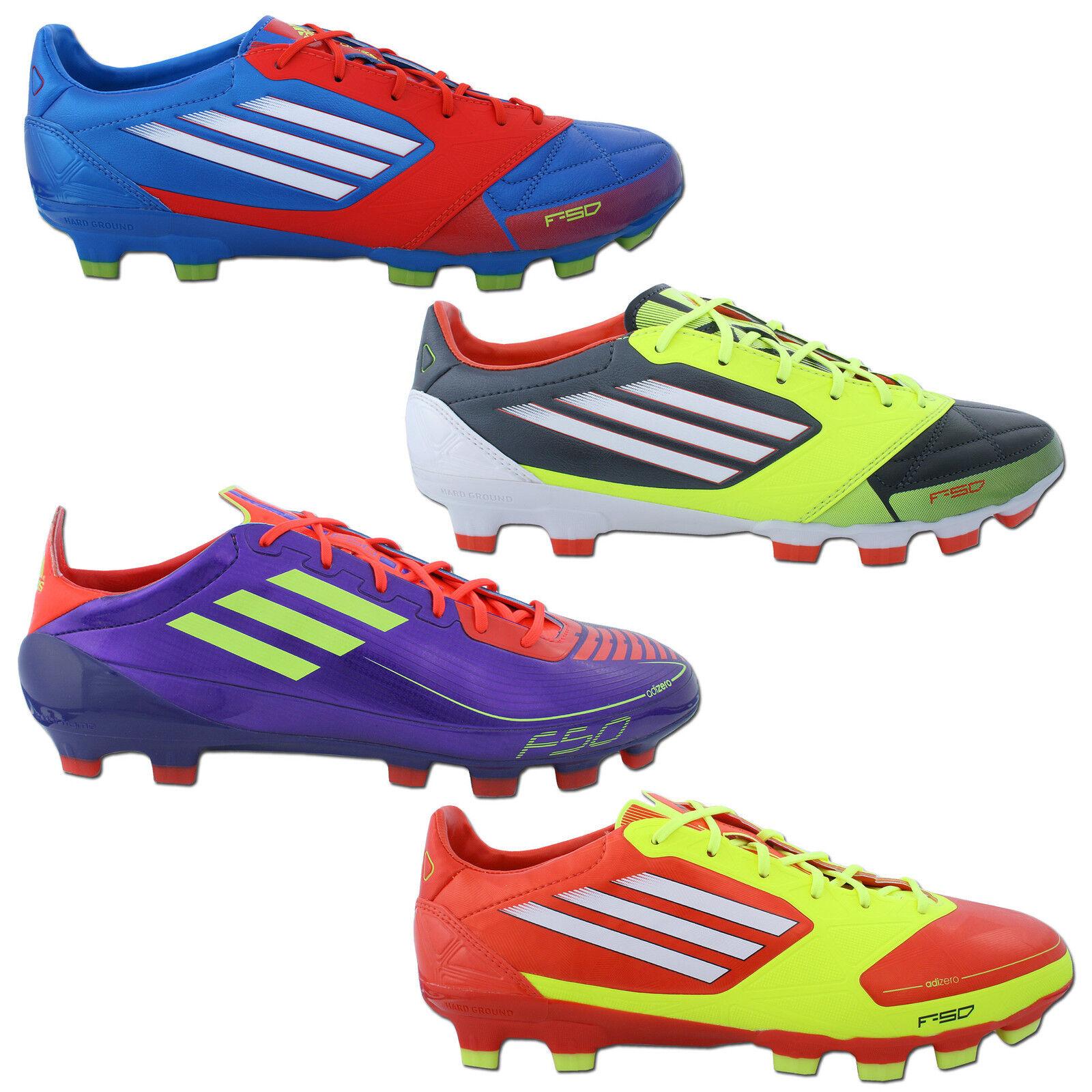 Adidas F50 Adizero TRX Hg Leather and Syn Football shoes Fg Sg New Soccer 39-48