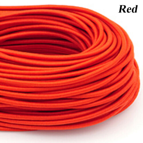 3mm 10m New DIY Line Craft Nylon Round Rubber Colorful Sewing Rope Elastic Band