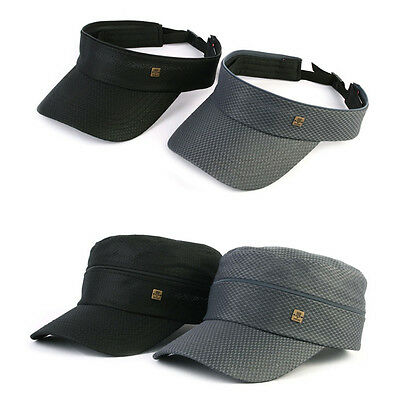 XL~2XL 61~64Cm Unisex Mens Zipper Stretch Fit Cadet Military Cap Trucker Hats