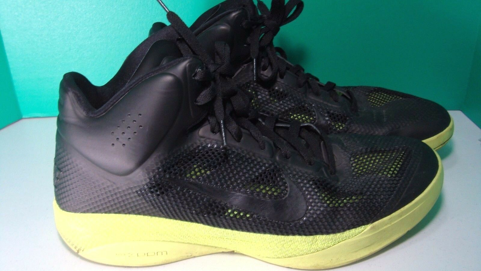 cca7eb8a2879 Nike Zoom Hyperfuse Black Volt Men s Size 14 Max Rise 407622-006 for ...