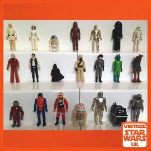 Vintage-Star-Wars-Original-Loose-Kenner-Action-Figures-A-New-Hope-ANH