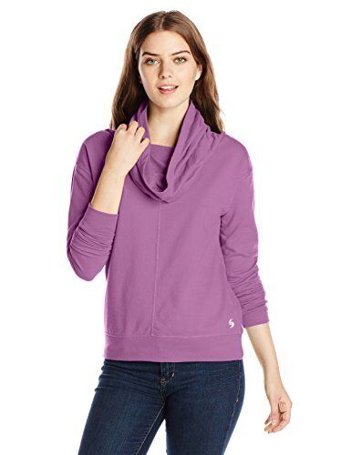 Meadow Mauve,Size Small $18 Soffe Women/'s French Terry Cowl Neck Sweatshirt