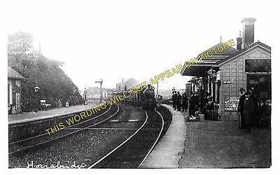 LYDFORD LINE TAVISTOCK PHOTO  HORRABRIDGE RAILWAY STATION YELVERTON