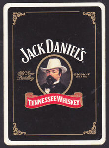 Jack Daniel/'s No7 Tennessee Whiskey Single Playing Card